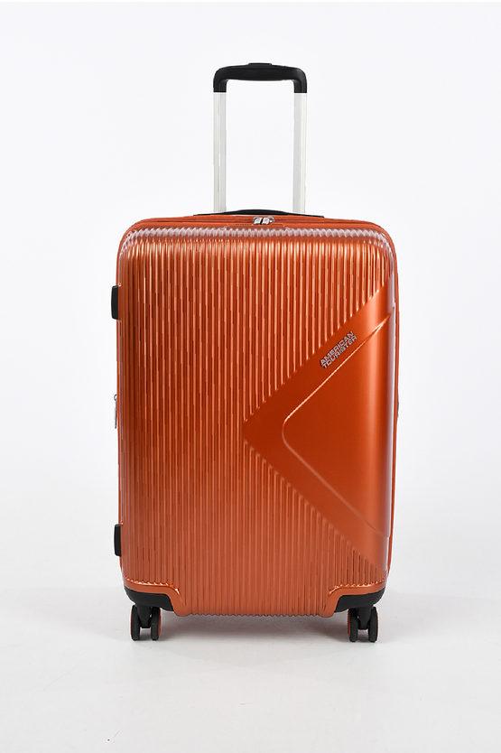MODERN DREAM Medium Trolley 69cm 4W Expandable Orange