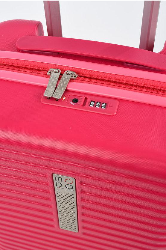 MODO VEGA Trolley Cabina 55/20cm 4R Espandibile Rosa