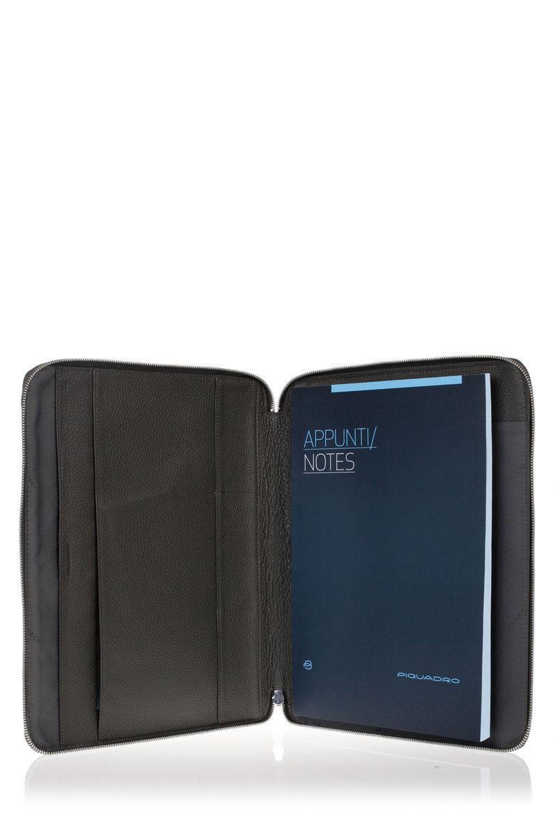98f18f7d8f MODUS Portablocco porta iPad/iPadAir Grigio Piquadro uomo - Cuoieria ...