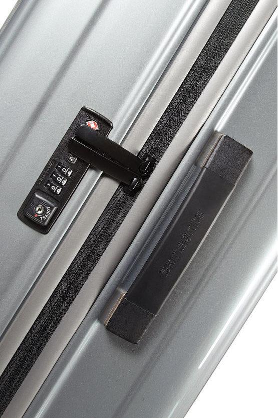 NEOPULSE Trolley Grande 75cm 4R Argento Metallizzato