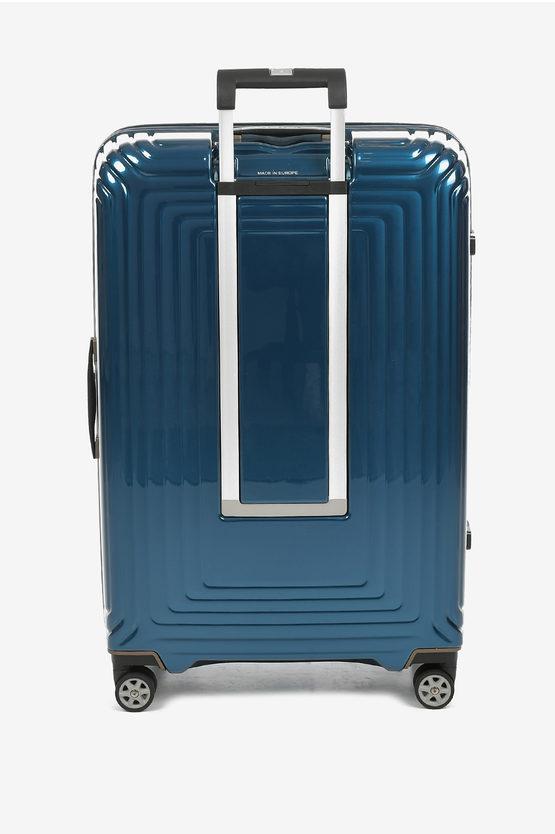 NEOPULSE Trolley Grande 75cm 4R Blu Metallizzato