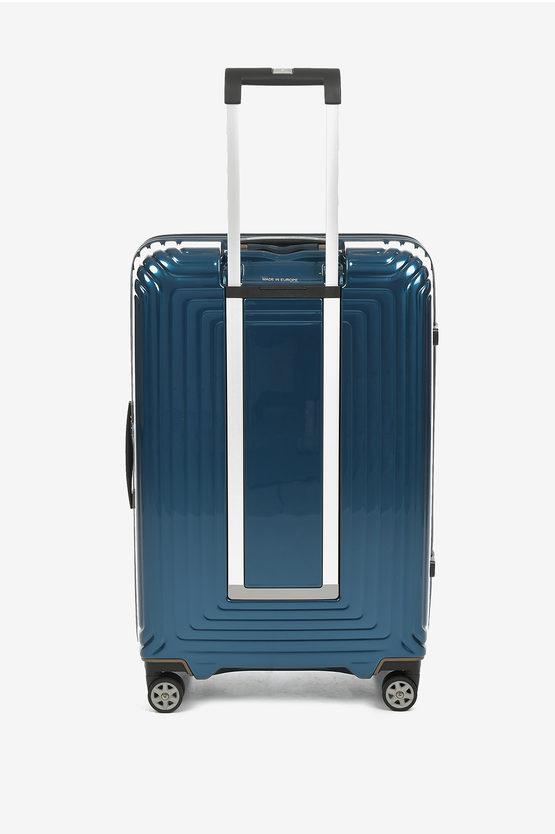 NEOPULSE Trolley Medio 69cm 4R Blu Metallizzato