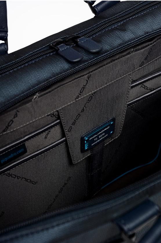 P16 Cartella Porta Documenti Blu