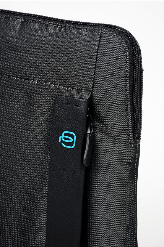 P16 Crossbody Fabric Bag Dark Grey