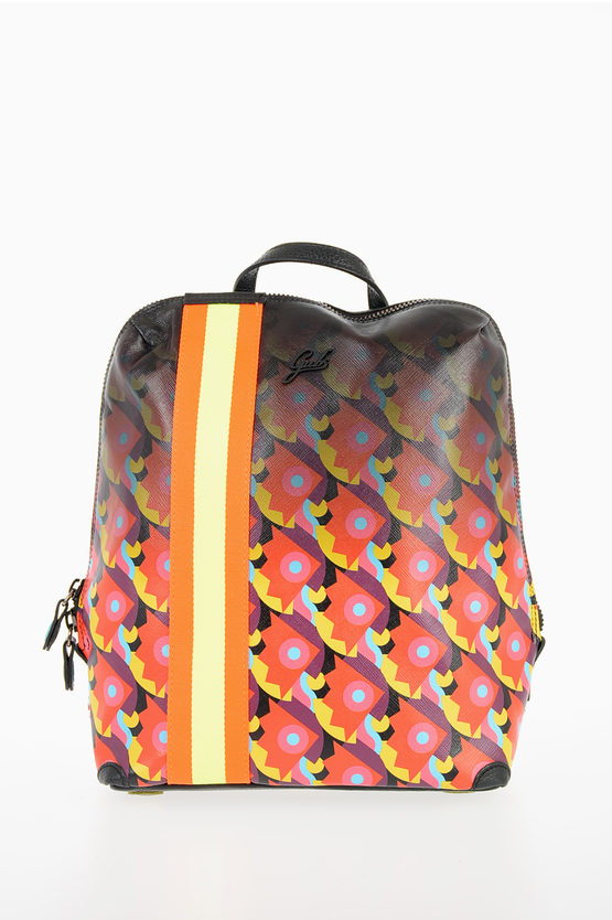 Printed DIVA Backpack