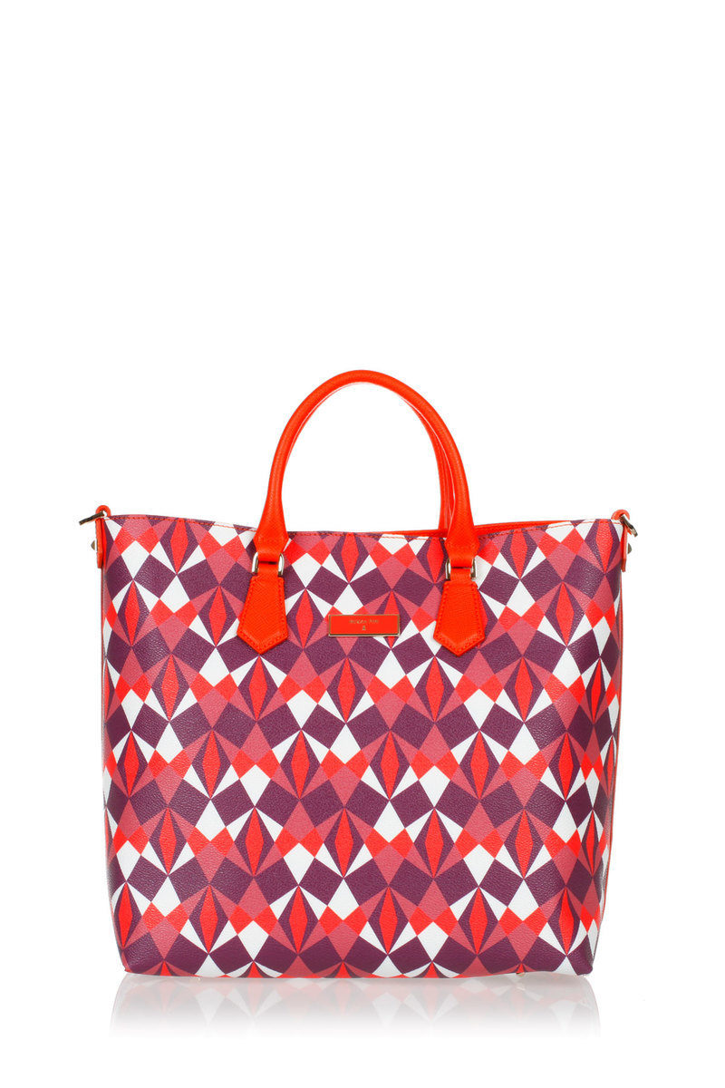 new style 8dce7 6f98f Printed Shopping Bag Patrizia Pepe women - Cuoieria Shop On-line