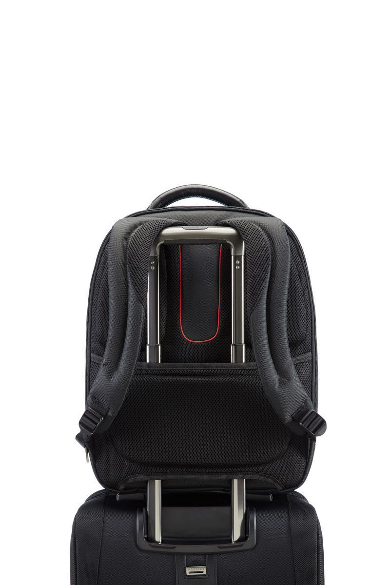bffdc46b64d5e PRO-DLX 4 Laptop Backpack M 14.1   Black Samsonite men - Cuoieria ...