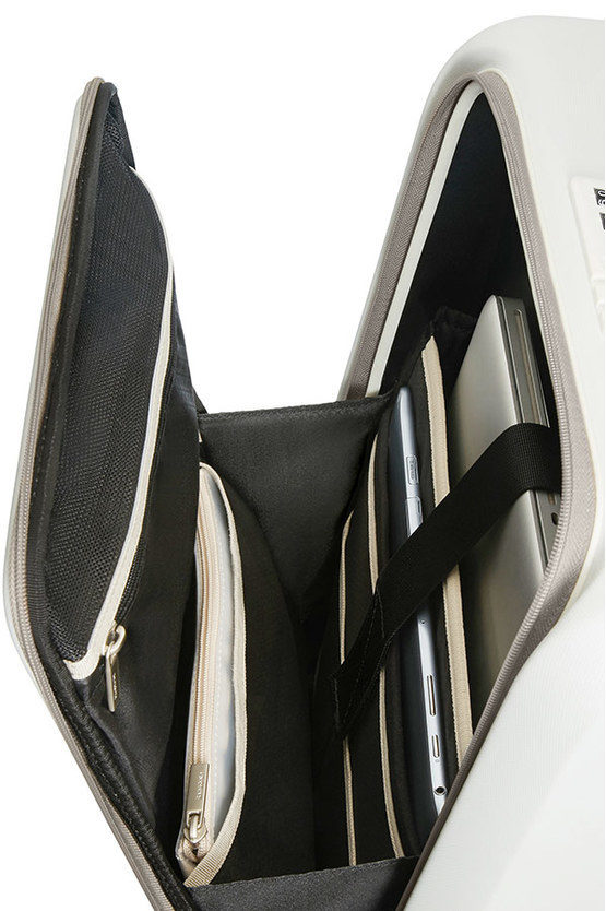 PRODIGY Trolley Cabina 55cm 4R Espandibile Bianco