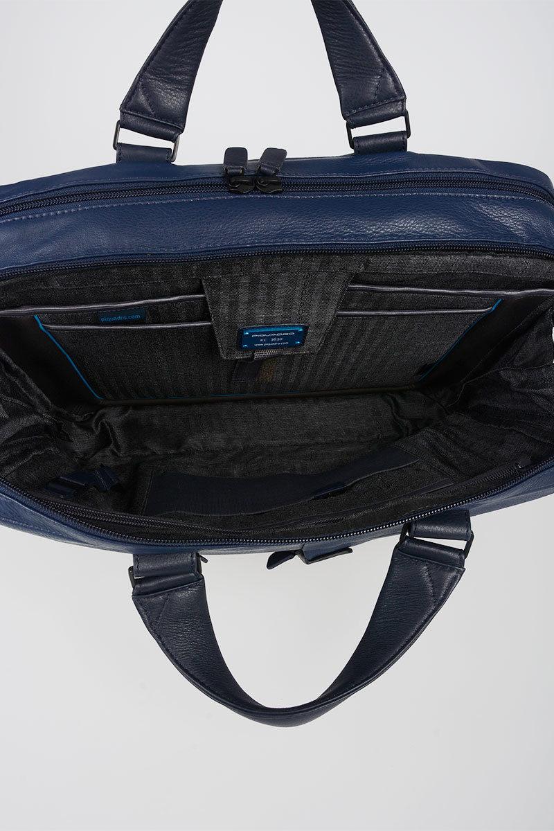 Piquadro expandable briefcase for laptop 15 and Connequ