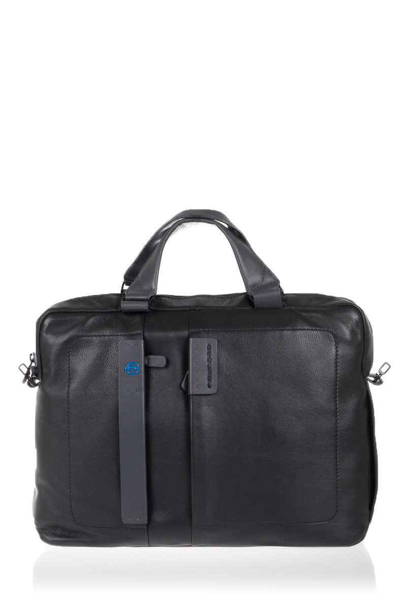 753ff5de1c PULSE Cartella porta PC Nero Piquadro uomo - Cuoieria Shop On-line