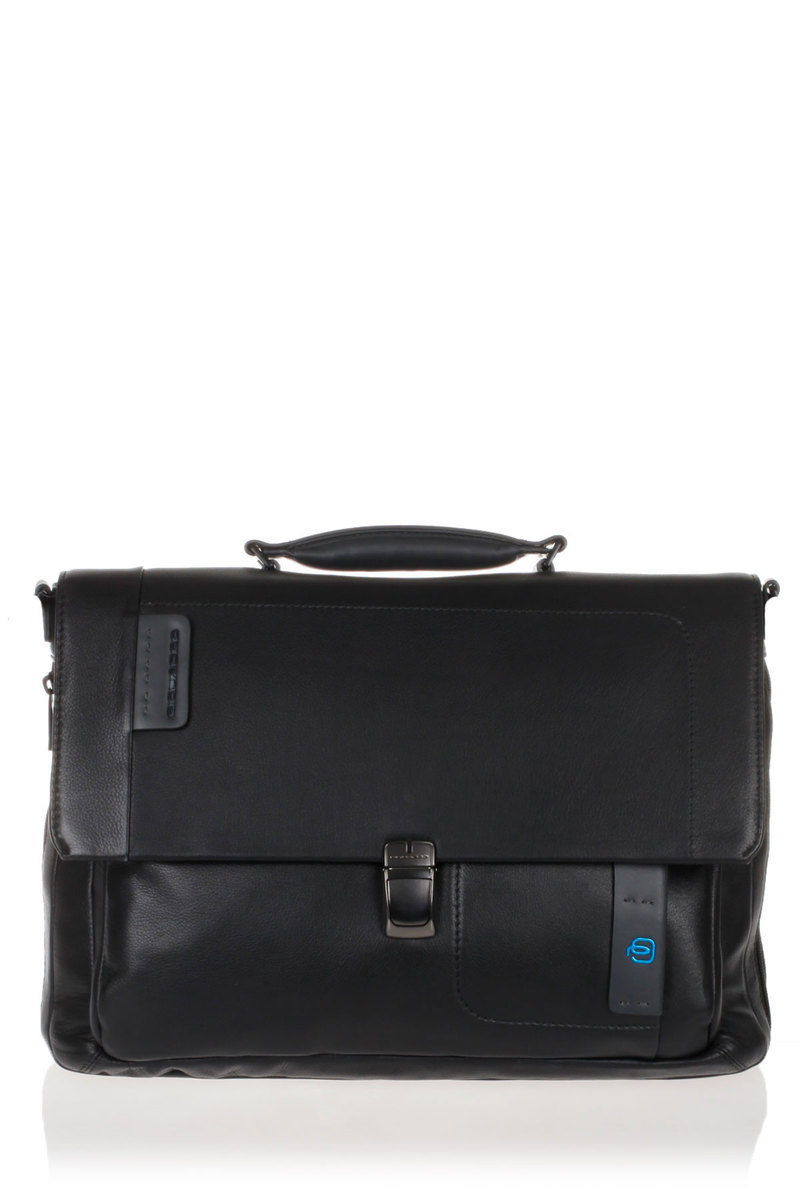 87bf3ac330 PULSE Messenger Bag Porta PC Espandibile Nero Piquadro uomo ...