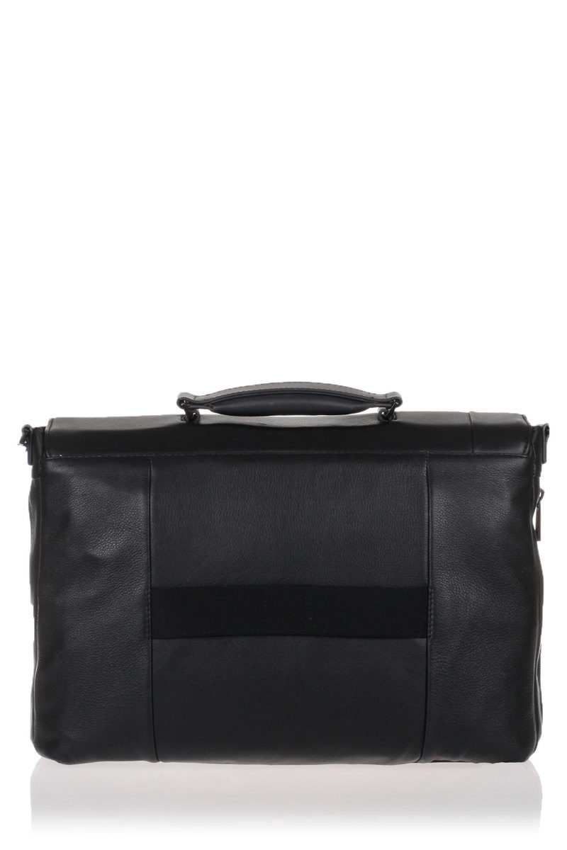 e7e01318a6d00 PULSE Messenger Bag Porta PC Espandibile Nero Piquadro uomo ...