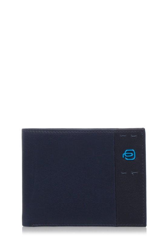 PULSE Portafoglio con Portamonete Blu