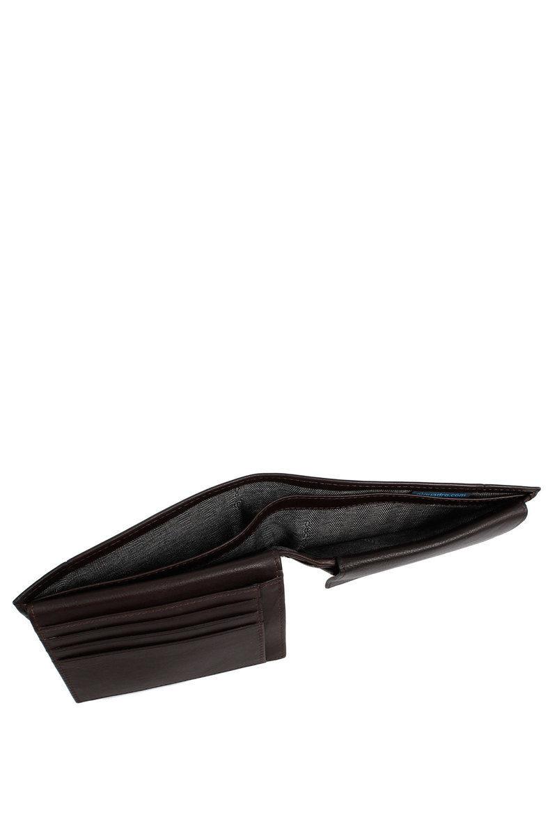 669167f6e4 PULSE Portafoglio con Portamonete, Documenti e Carte di Credito Marrone. ‹ ›