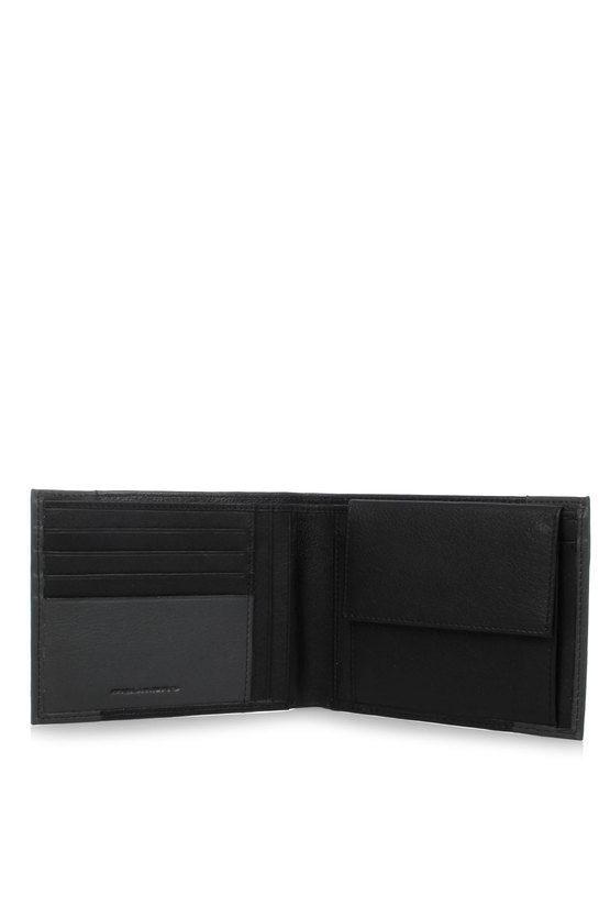 PULSE Portafoglio con Portamonete Nero