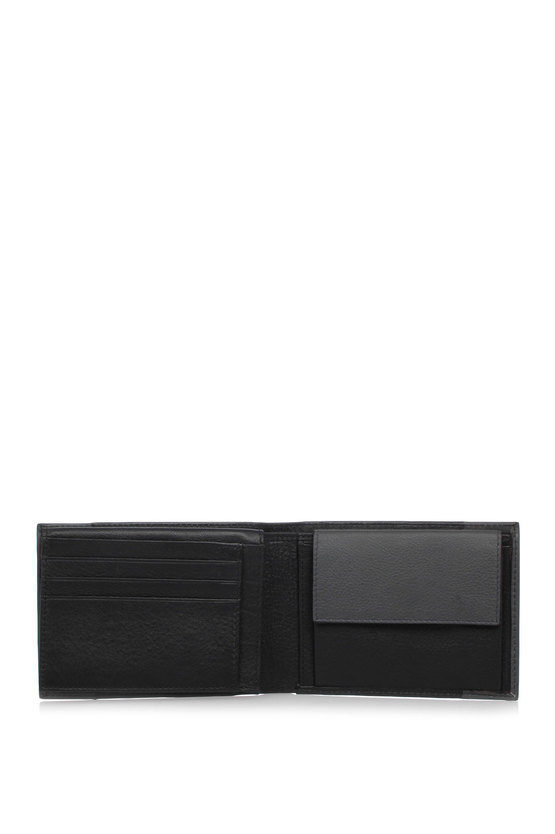 PULSE Wallet Coin Pocket and Credit Card slots Black