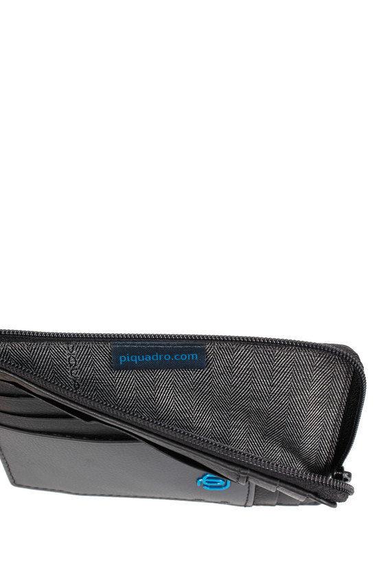 PULSE Zipper Coin Pouch Black