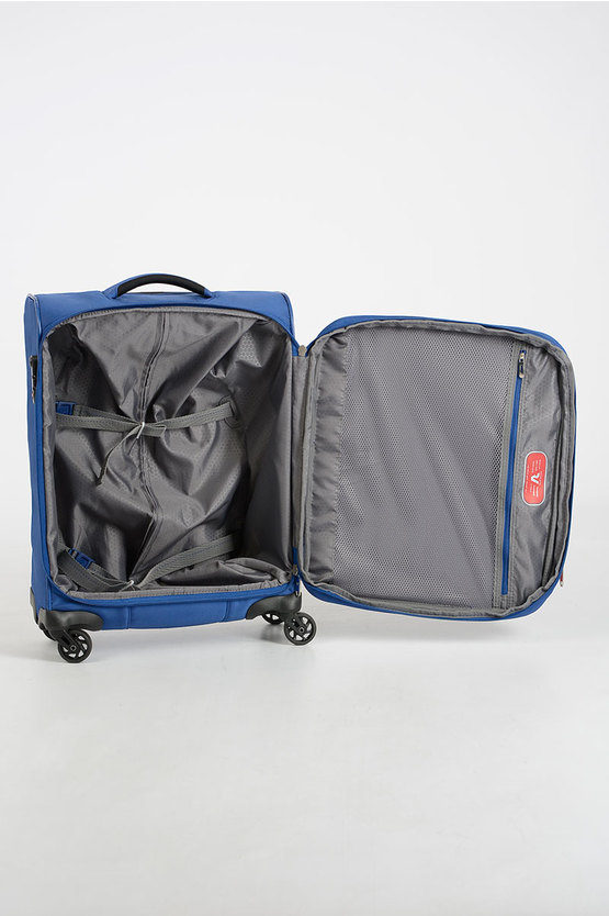 REEF Cabin Trolley 55cm 4W Expandable Blue