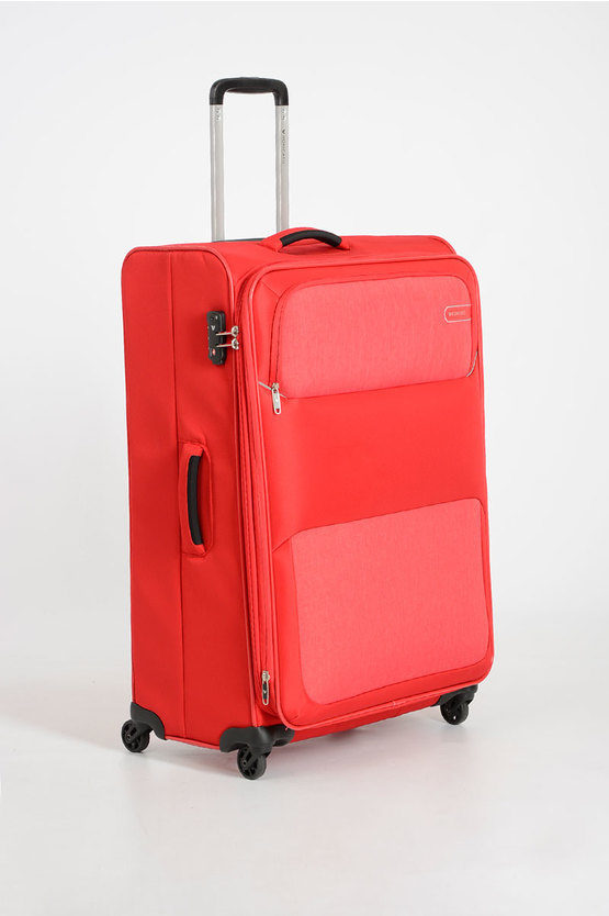 REEF Large Trolley 78cm 4W Expandable Red