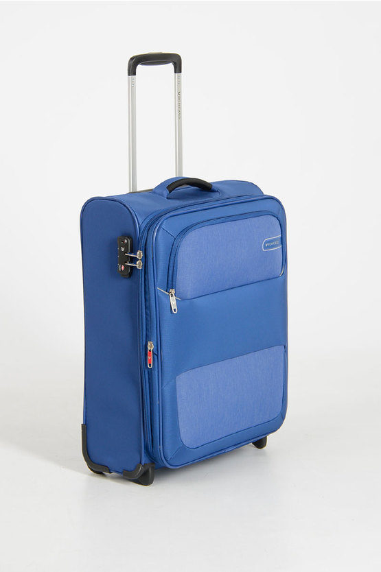 REEF Trolley Cabina 55cm 2R Espandibile Blu