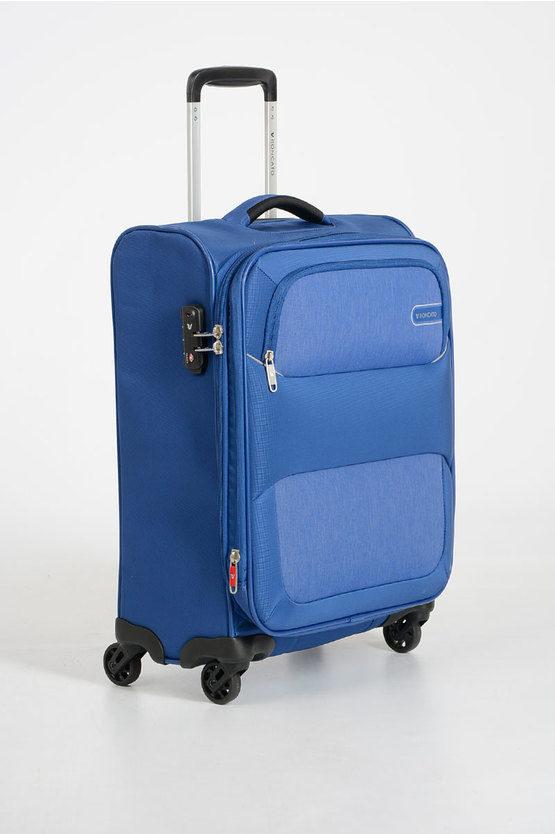 REEF Trolley Cabina 55cm 4R Espandibile Blu