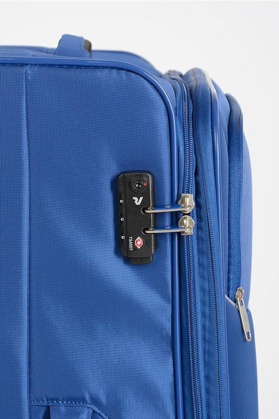 REEF Trolley Grande 78cm 4R Espandibile Blu