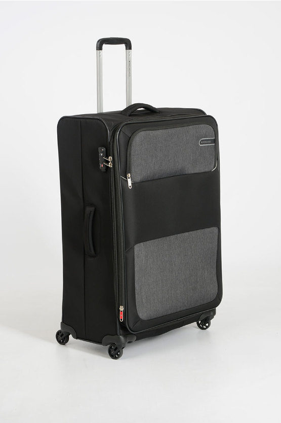 REEF Trolley Grande 78cm 4R Espandibile Nero
