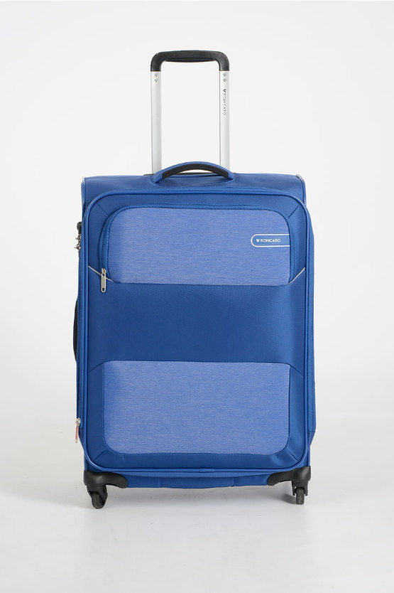 REEF Trolley Medio 67cm 4R Espandibile Blu
