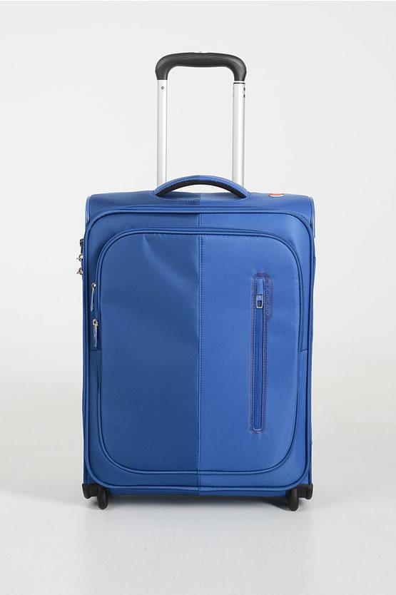 ROMA Cabin Trolley 55cm 4W Blue