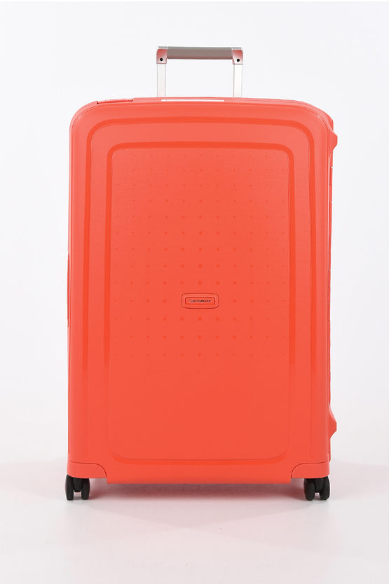 S'CURE Large Trolley 75cm 4W Fluo Red Capri