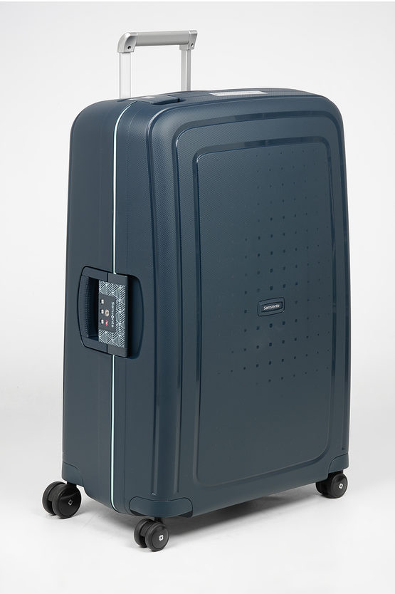 S'CURE Large Trolley 75cm 4W Navy Blu Capri