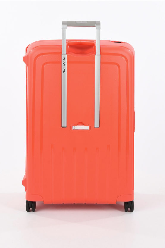 S'CURE Large Trolley 81cm 4W Fluo Red Capri