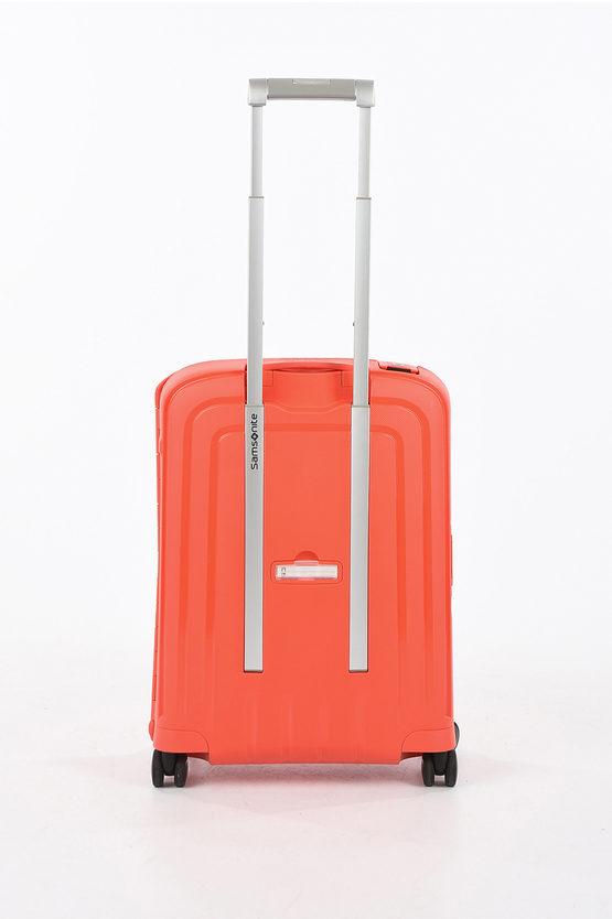S'CURE Trolley Cabina 55cm 4R Fluo Red Capri