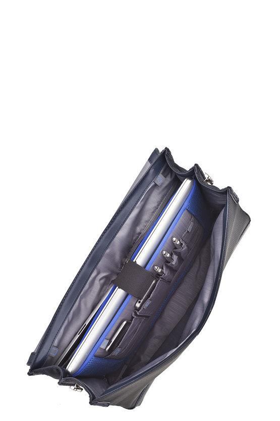 S-OULITE Cartella Porta PC 15.6'' Blu