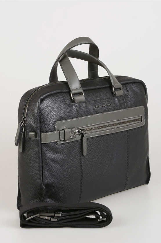 SCOTT Leather Business Bag black