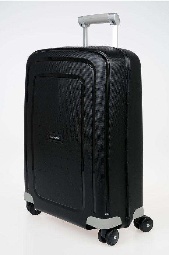 S'CURE Cabin Trolley 55cm 4W Black