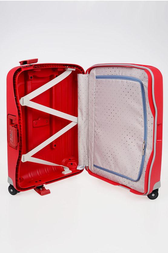 S'CURE Cabin Trolley 55cm 4W Red