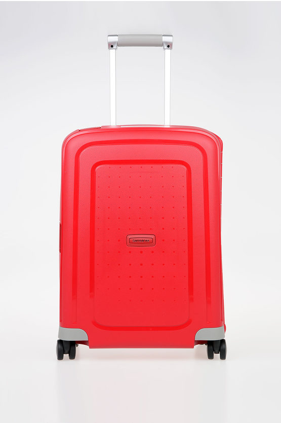 S'CURE Trolley Cabina 55cm 4R Rosso