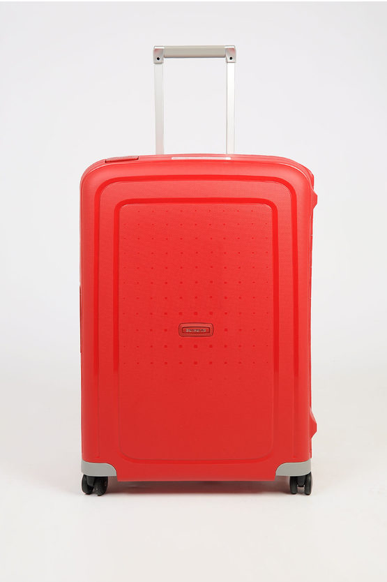 S'CURE Trolley Medio 69cm 4R Rosso