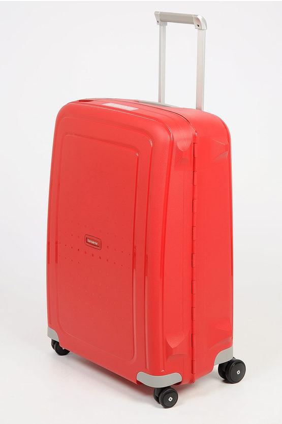S'CURE Trolley Medio 69cm 4R Rosso