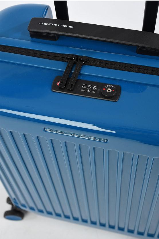 SEEKER Cabin Trolley 55/20 4w Blue