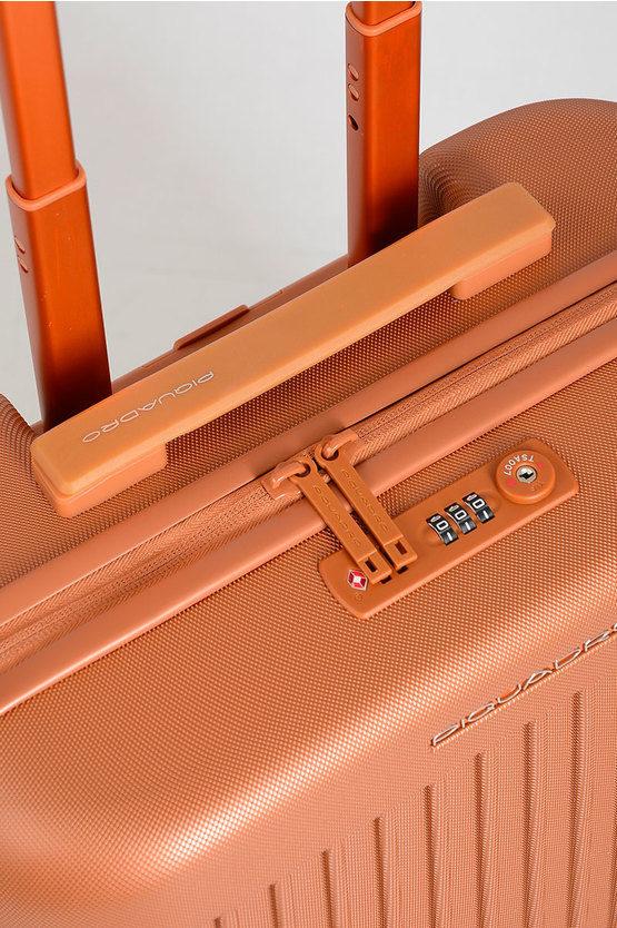 SEEKER Trolley Cabina 55cm 4R Arancio