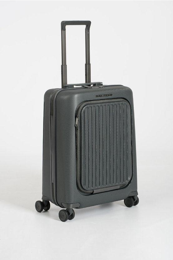 SEEKER Trolley Cabina 55cm 4R porta PC iPad®Air/ Pro 10.5 Grigio