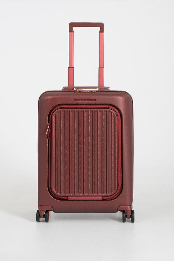 SEEKER Trolley Cabina 55cm 4R porta PC iPad®Air/ Pro 10.5 Rosso