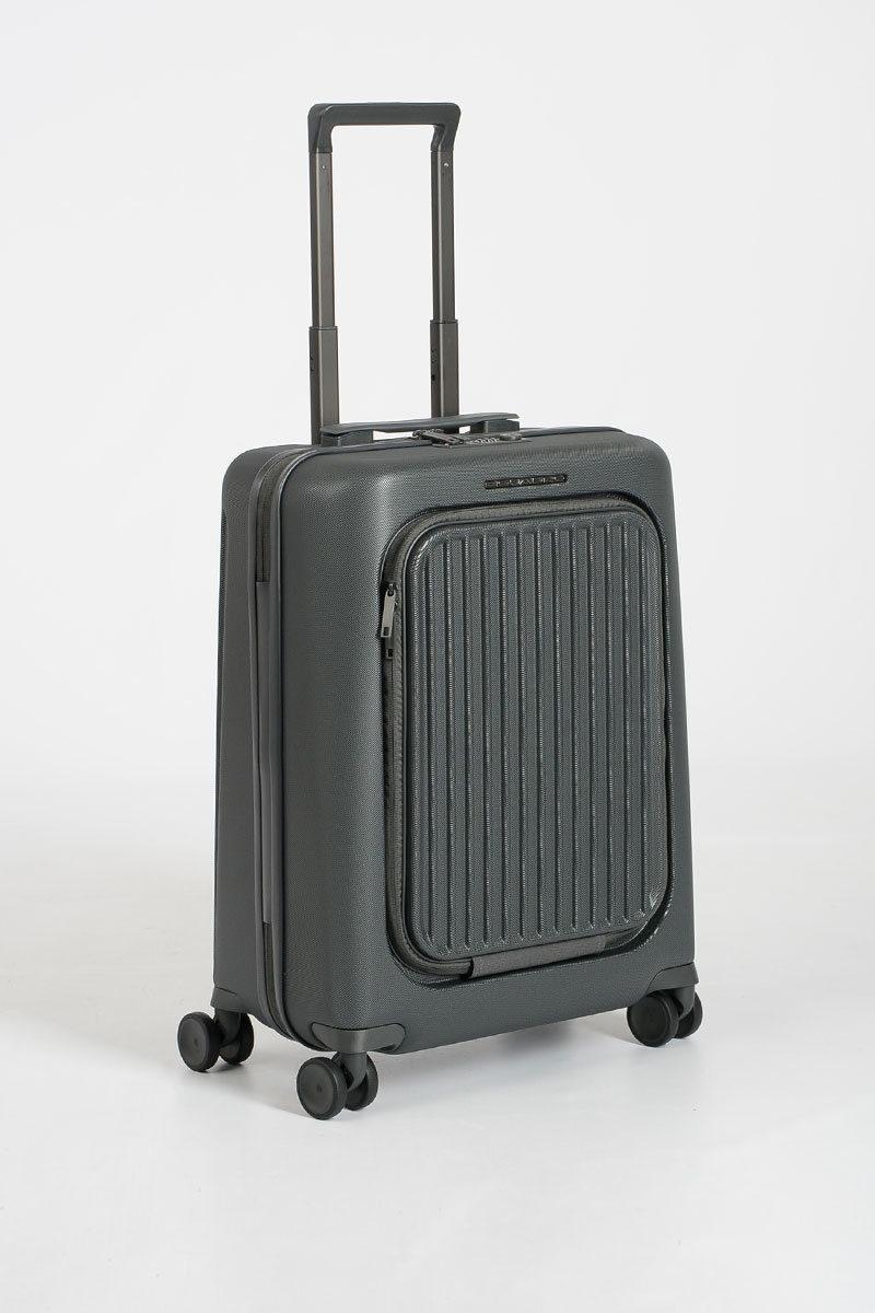 3f01e848acb359 SEEKER Trolley Cabina porta PC iPad®Air/ Pro 10.5 Grigio Piquadro ...