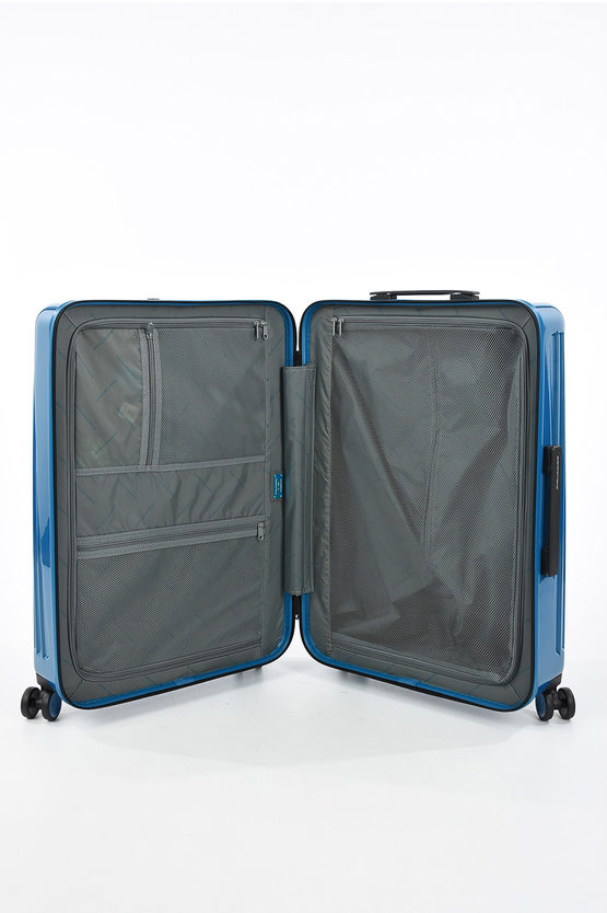 SEEKER Trolley Medio 69cm 4R Blu