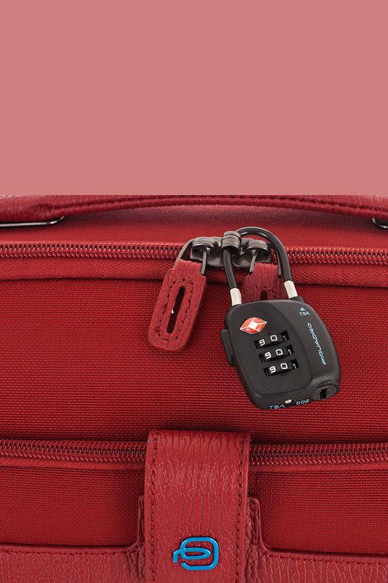SIGNO Trolley Cabina 51cm 2R Rosso