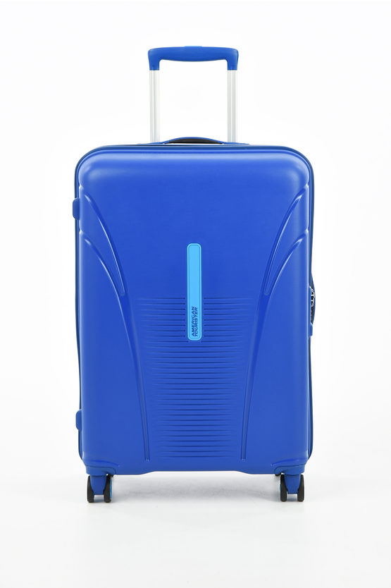 SKYTRACER Medium Trolley 68cm 4W Highline Blue
