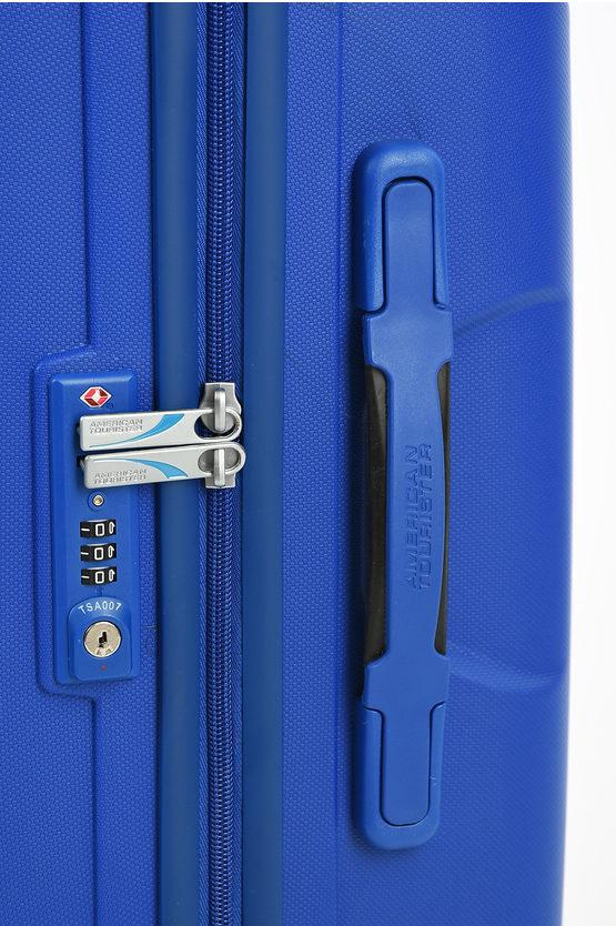SKYTRACER Trolley Medio 68cm 4R Highline Blue