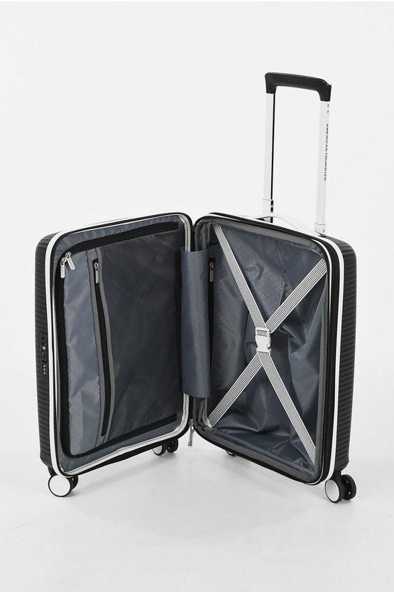 SOUNBOX Set 2 Trolley 55/67cm 4W Expandable Black/white